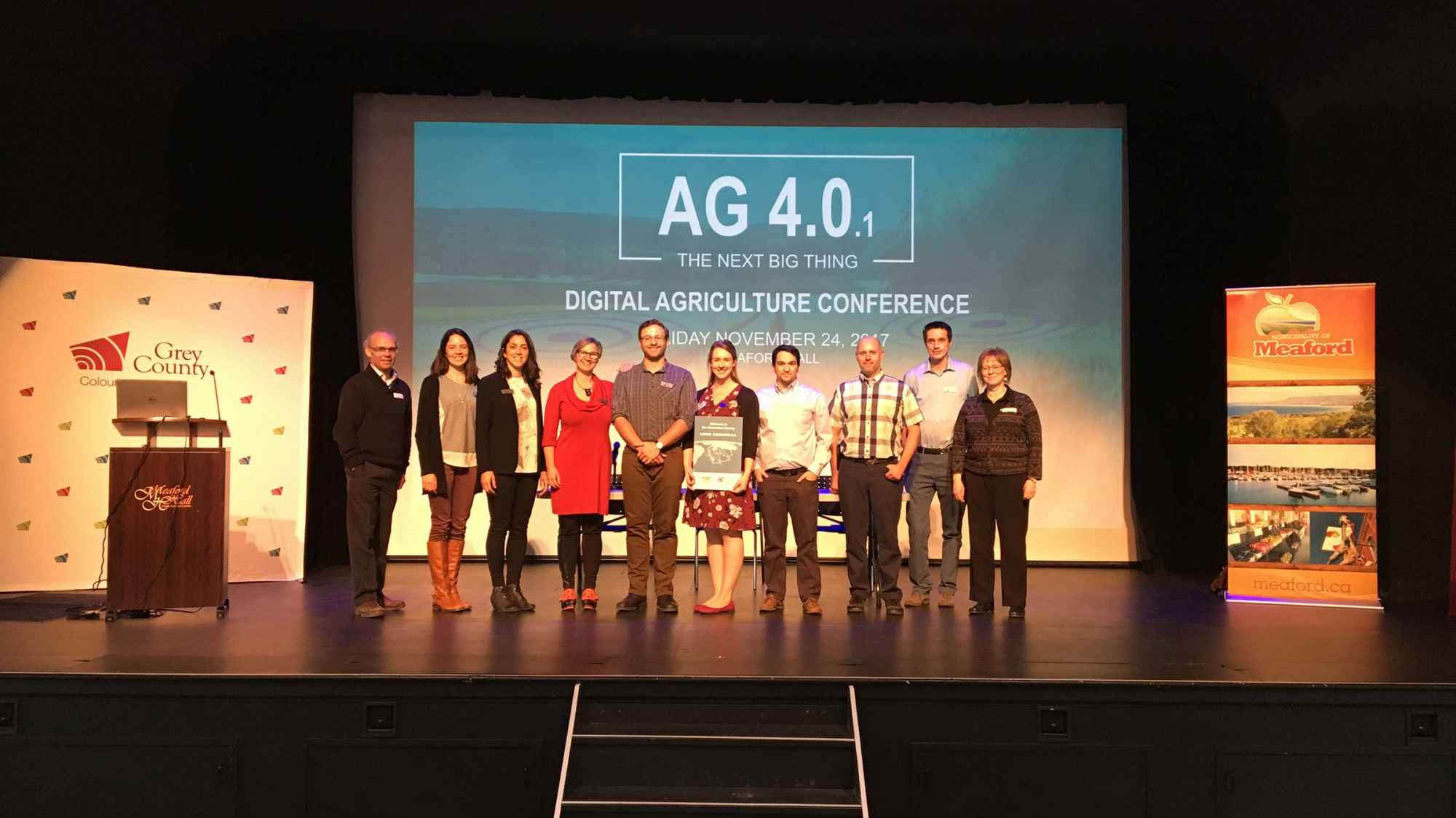Grey County Staff at Ag 4.0
