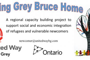 Making Grey Bruce Home flyer