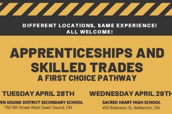 Apprenticeship and Skilled Trades Poster