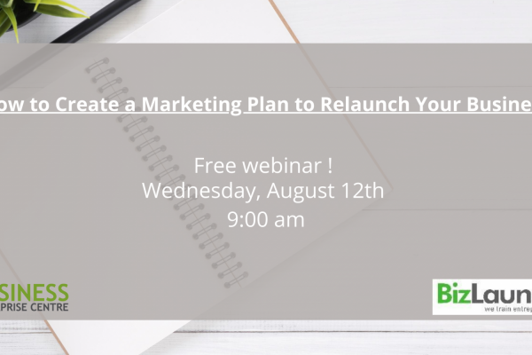 How to Create a Marketing Plan to Relaunch Your Business