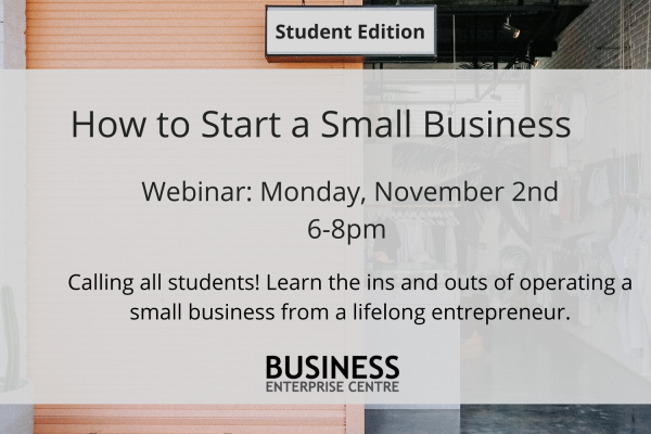 How to Start a Small Business (Student Edition)